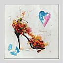 זול אומנות ממוסגרת-ציור שמן צבוע-Hang מצויר ביד - מפורסם מודרני בַּד