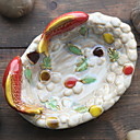 cheap Christmas Decorations-Others Oval Cute / Creative / Funny Home Organization, 1pc Storage Trays