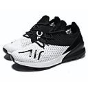 זול נעלי ספורט לגברים-בגדי ריקוד גברים רשת אביב / סתיו נוחות נעלי אתלטיקה הליכה שחור / אדום / שחור לבן