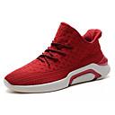 povoljno Muške tenisice-Muškarci Osvjetljenje Pletivo Proljeće / Jesen Sneakers Crn / Crvena