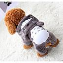 ieftine Zgardă Câine & Lese-Câini / Pisici / Animale de Companie Hanorca Îmbrăcăminte Câini Mată / Tartan / Carouri / Rabbit / bunny Gri Bumbac Costume Pentru