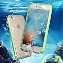 ieftine Cazuri telefon & Protectoare Ecran-Maska Pentru Apple iPhone 8 Plus / iPhone 7 Rezistent la apă / Anti Șoc / Transparent Carcasă Telefon Mată Moale TPU pentru iPhone 8 Plus / iPhone 8 / iPhone 7 Plus