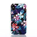 cheap Cell Phone Cases & Screen Protectors-Case For Apple iPhone X / iPhone 8 Pattern Back Cover Flower Hard PC for iPhone X / iPhone 8 Plus / iPhone 8
