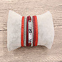 cheap Bracelets-Leather Bracelet - European, Fashion Bracelet Red / Pink For Gift Daily