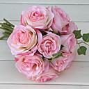preiswerte Kunstblume-Künstliche Blumen 1 Ast Hochzeitsblumen Rosen Tisch-Blumen