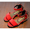 זול נעלי ילדות-בנות נעליים PU קיץ נוחות סנדלים ל שחור / אדום / ירוק