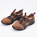 זול סניקרס לגברים-בגדי ריקוד גברים רשת קיץ & אביב נוחות נעלי אתלטיקה טיפוס אפור / חום / ירוק