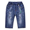 ieftine Pantaloni Băieți-Copii Băieți De Bază Mată Pantaloni