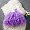 ieftine Seturi Îmbrăcăminte Fete-Copii Fete Peteci Manșon Lung Rochie