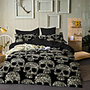 cheap Duvet Covers-Duvet Cover Sets 3D Poly / Cotton Reactive Print Other
