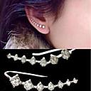 preiswerte Modische Ohrringe-Damen Perle Tropfen-Ohrringe - Künstliche Perle, Kubikzirkonia Gold / Silber Für