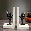 cheap Decorative Objects-2pcs Resin Modern / Contemporary for Home Decoration, Home Decorations Gifts
