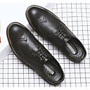 זול נעלי ספורט לגברים-בגדי ריקוד גברים PU אביב נוחות נעלי אוקספורד שחור / צהוב