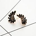 cheap Earrings-Stud Earrings - Resin Wings Simple, European, Fashion Black For Daily