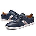cheap Men's Sneakers-Men's Comfort Shoes PU(Polyurethane) Spring Sneakers White / Blue / Khaki
