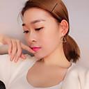 ieftine Cercei la Modă-Pentru femei Perle Apă dulce Pearl Cercei Picătură - S925 Sterling Silver, Apă dulce Pearl Simplu, Clasic, Modă Alb Pentru Cadou Zilnic