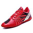 זול נעלי ספורט לגברים-בגדי ריקוד גברים PU סתיו נוחות נעלי אתלטיקה כדורגל אדום / ירוק / כחול