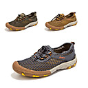 cheap Footwear & Accessories-Men's Hiking Shoes Camping / Hiking / Hunting / Fishing Anti-Slip, Quick Dry, Wearable Breathable Mesh Brown / Grey / Khaki