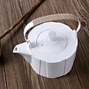 זול ספלים וכוסות-חַרְסִינָה Heatproof 1pc קנקן תה