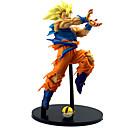 halpa Anime-figuurit-Anime Toimintahahmot Innoittamana Dragon Ball Son Goku PVC 22cm CM Malli lelut Doll Toy