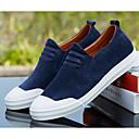 cheap Men's Slip-ons & Loafers-Men's Pigskin Spring Comfort Loafers & Slip-Ons Black / Blue / Khaki