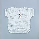povoljno Majice za Za dječake bebe-Dijete Dječaci Ulični šik Geometrijski oblici Kratkih rukava Poliester Majica s kratkim rukavima Obala