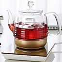 abordables Tazas-1pc vidrio Colador de té Resistente al calor ,  15*14cm