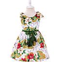 ieftine Seturi Îmbrăcăminte Fete-Copil Fete Floral Fără manșon Rochie