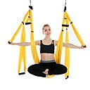 cheap Fitness Gear & Accessories-Aerial Yoga Swing With Flying Yoga Strap / Yoga Hammock / Padded Foam Nylon Fiber / Nylon Ultra Strong Antigravity Decompression Inversion Therapy For Aerial Yoga / Inversion Exercises / Air Yoga All