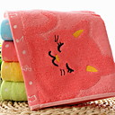 cheap Wash Cloth-Superior Quality Wash Cloth, Solid Colored 100% Bamboo Fiber 4 pcs