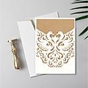olcso Esküvői meghívók-Szétnyiló Esküvői Meghívók Eljegyzési meghívók / Esküvői meghívók / Babaértesítő képeslapok Művészeti stílus / Régies stílus