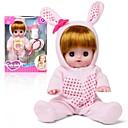 preiswerte Puppen-Interaktive Puppe Baby Mädchen 12 Zoll Silikon - lebensecht Kinder Mädchen Spielzeuge Geschenk