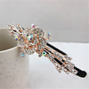 "cheap Hair Accessories-Headbands Hair Accessories Crystal / Alloy Wigs Accessories Women's 1pcs pcs 6 1/3"" (16 cm) cm Party / Daily Stylish / Headpieces Classic / Crystal / Rhinestone"