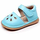 זול נעלי תינוקות-בנות נעליים PU אביב קיץ צעדים ראשונים סנדלים אבזם ל תינוק פוקסיה / ורוד / כחול בהיר