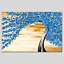 ieftine Picturi în Ulei-Hang-pictate pictură în ulei Pictat manual - Floral / Botanic Modern pânză