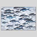 ieftine Picturi în Ulei-Hang-pictate pictură în ulei Pictat manual - Natură moartă Modern Includeți cadru interior / Stretched Canvas