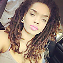 cheap Hair Braids-Braiding Hair Short Curly Twist Braids Dreadlocks Faux Locs Pre-loop Crochet Braids Synthetic 100% kanekalon hair 24 roots / pack Blonde Multi-color Burgundy 14 inch 5-6packs for a full head