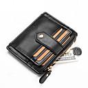 cheap Coin Purse-Unisex Bags PU(Polyurethane) Coin Purse Zipper Black / Red / Coffee