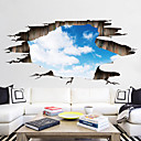 ieftine Acțibilde de Perete-Autocolante de Perete Decorative / Etichete autocolante - 3D Acțibilduri de Perete Peisaj / #D Sufragerie / Dormitor / Baie