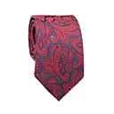 رخيصةأون ضفائر شعر-ربطة العنق ورد / ألوان متناوبة / زخرفات رجالي عمل / أساسي