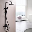 זול ברזים למקלחת-ברז למקלחת - עכשווי צביעה התקנת קיר שסתום קרמי