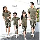 ieftine Set Îmbrăcăminte De Familie-Familie Uite Geometric Manșon scurt Tricou