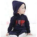 ieftine Set Îmbrăcăminte Bebeluși-Bebelus Băieți De Bază Imprimeu Manșon Lung Bumbac Salopetă Bleumarin 80 / Copil