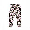 cheap Girls' Pants & Leggings-Toddler Girls' Cat Floral Leggings