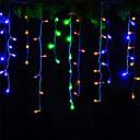 billige LED-kædelys-4m Lysslynger 96 lysdioder Dyp Led Varm hvid / Kold hvid / Rød Dekorativ / Koblingsbar 220-240 V 1pc