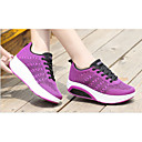 cheap Women's Athletic Shoes-Unisex Shoes Mesh Spring & Summer Comfort Athletic Shoes Running Shoes / Walking Shoes Low Heel Round Toe Gray / Purple / Red