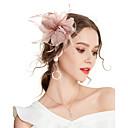 levne Ozdoby do vlasů na večírek-Dámské Kentucky Derby Vintage Elegantní Květiny Kubický zirkon Doplňky do vlasů-Jednobarevné / Svatební / Látka / Celý rok