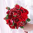 ieftine Flori Artificiale-Flori artificiale 1 ramură Clasic / Single Nuntă Trandafiri Față de masă flori