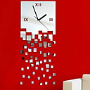 abordables Relojes de Pared Modernos y Contemporáneos-Moderno / Contemporáneo El plastico Irregular Interior,Pilas AA alimentadas