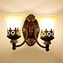 رخيصةأون شمعدان الحائط-تصميم جديد / جميل LED / الحديثة / المعاصرة مصابيح الحائط غرفة الجلوس / غرفة النوم معدن إضاءة الحائط 220-240V